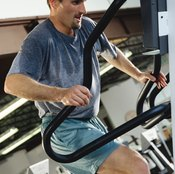 Stair steppers burn more calories than exercise bikes when used at the same intensity level.