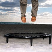 Trampolines are more than fun -- they're healthy, too.