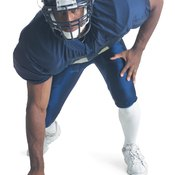 Taking a proper stance puts you in position to move quickly toward the ballcarrier.