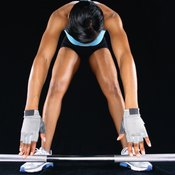 Abdominal muscles help stabilize the torso when performing a deadlift.
