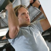 Chin-ups work all the major pulling muscles of your upper body.