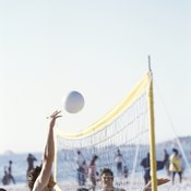 Volleyball scrimmages can be done for fun with friends or taken seriously at team practice.