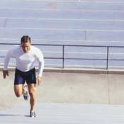Running is a good way to lose weight.