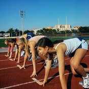 Teen runners get their energy from glycogen, which is stored via carbohydrate consumption.