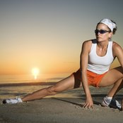 Lateral lunges work your outer quad muscles.