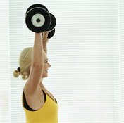 Lifting weights combats muscle loss.