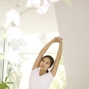 Stretch your sides with this relaxing move.