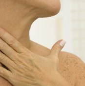 The scalene muscle is located on the side of the neck.