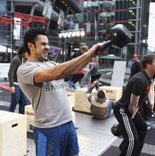 The kettlebell swing can lead to a balanced, fit physique.