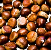 Chestnuts add sweet, nutty flavor and vitamin K to dishes.