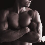 Improve your triceps with dips.
