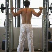 Arm movements used while lifting weights can lead to wrist pain.