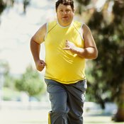 Heavier joggers burn more calories.