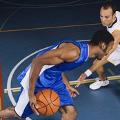 Making sharp cuts on a basketball course can lead to leg injuries.