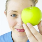 Lose weight with a healthy diet.