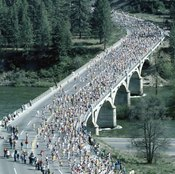 A marathon requires special preparation in the weeks before the race.