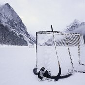 Building a home hockey goal is quick and affordable.