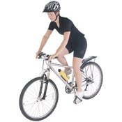 Correct cycling posture involves your head, back, arms and legs.