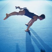 The floor is a common apparatus in artistic and rhythmic gymnastics.