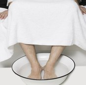 If it feels good, do it -- but Epsom salt probably won't help your foot pain.