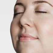 Overall weight loss can help slim chubby cheeks.
