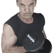 You can build upper body muscle mass well into your 40s.