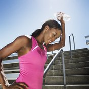 Environmental factors such as hot weather will affect your heart rate more than your diet.