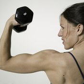 How you exercise can affect whether you get bigger or more toned muscles.