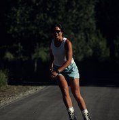 The time required to inline skate a mile depends on your speed.