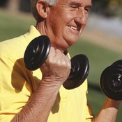 Substitute heavier dumbbells as your fitness increases.