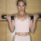 Physical fitness improves muscular strength.