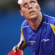 """The legendary """"Mozart of Table Tennis"""" Jan-Ove Waldner, would never play with peeling paddles."""