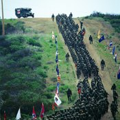 Long marches are part of PT.