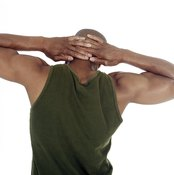 Perform static chest and shoulder stretches after your workout is complete.