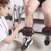 If you injure your meniscus, your therapist may have you perform strengthening exercises.