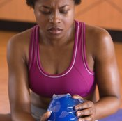 Being sidelined for an injury can cause muscle mass loss.