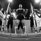 Squat suits give lifters assistance.