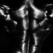 Use deadlifts to build a muscular upper back.