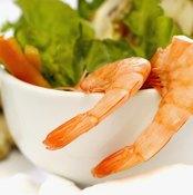 Shrimp contain varying amounts of natural sodium.
