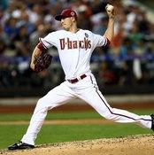 Arizona Diamondbacks' pitcher Patrick Corbin hurls a pitch in the MLB All-Star Game.