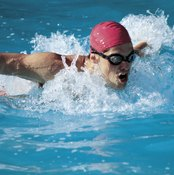 Complete swimming workouts at a pace that works best for you.