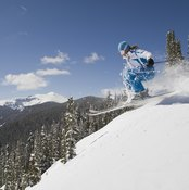 Experienced skiers can explore off-piste.