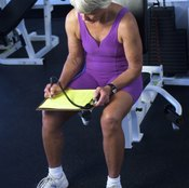 Log your workout routine to keep track of your results.