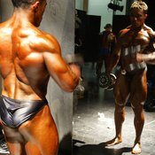 To compete in bodybuilding, you need a very low body-fat percentage.