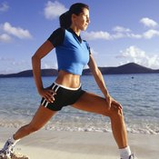 Lunges are one of the best exercises for strengthening the bones in your hips.