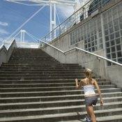Climb real stairs as an alternative to using a stair-climbing machine.