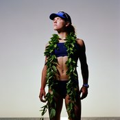 Triathletes are usually much leaner than the average person.