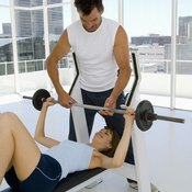 While bench press is the most common, chest-press variations abound.