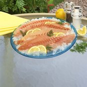 A single serving of red snapper provides your recommended daily intake of selenium and vitamin B-12.