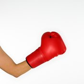 Strong elbows help deliver strong punches.